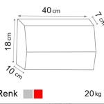 örme desenli bordür ölçüleri