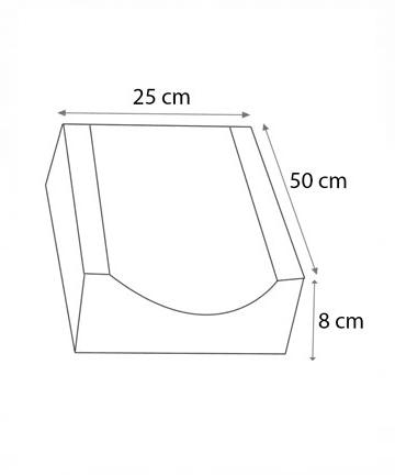 oluk taşı 25x50 ölçüleri