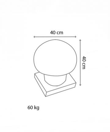 Hazır beton mantar ölçüsü