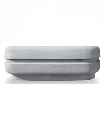 beton saksı 150x55-gri