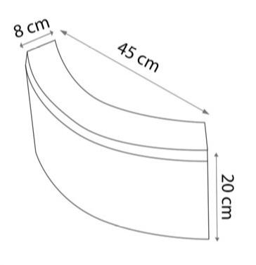 yuvarlak ağaç dibi bordür ölçüsü