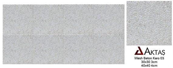wash beton beyaz