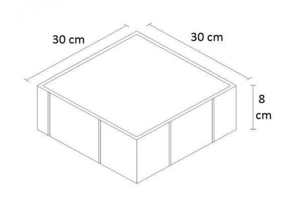 Kumlamalı 30x30 ölçü