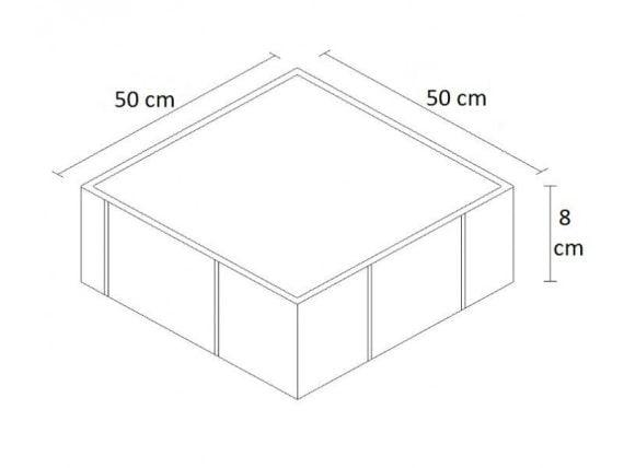 Kumlamalı 50x50 Parke ölçü