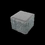 küp taşı 10x10 gri