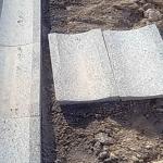 Granit oluk taşı uygulama